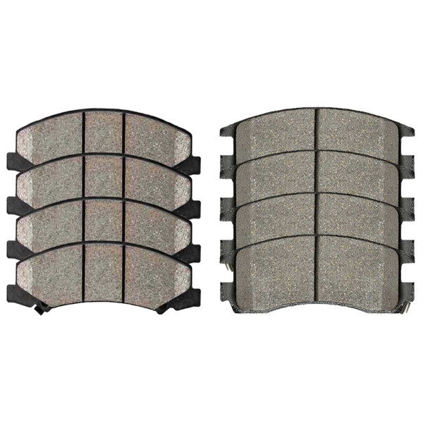 Front and Rear Ceramic Brake Pad Bundle - Part # SCD1159-698