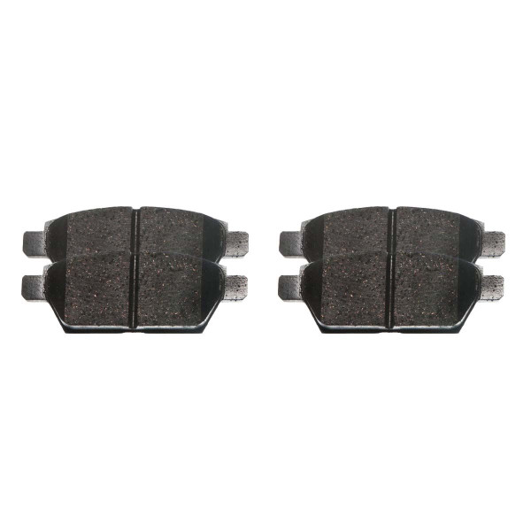 Rear Ceramic Brake Pad Set - Part # SCD1161