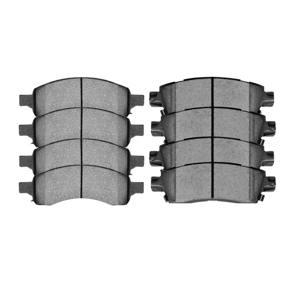 Front and Rear Ceramic Brake Pad Bundle - Part # SCD1169-883