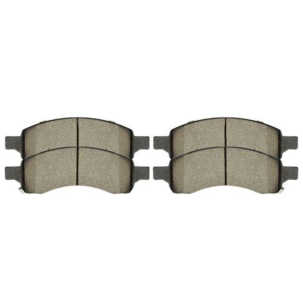 Front Ceramic Brake Pad Set - Part # SCD1169