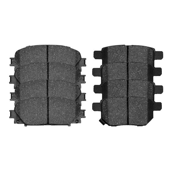 Front and Rear Ceramic Brake Pad Bundle - Part # SCD1184-1354