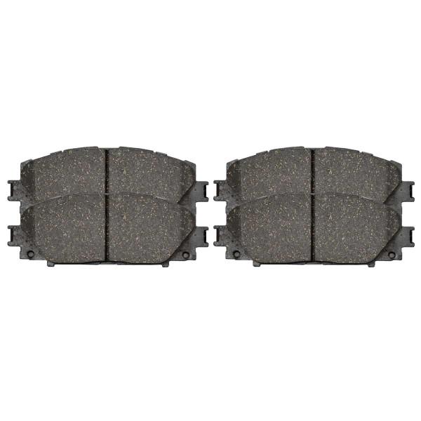 Front Ceramic Brake Pad Set - Part # SCD1184