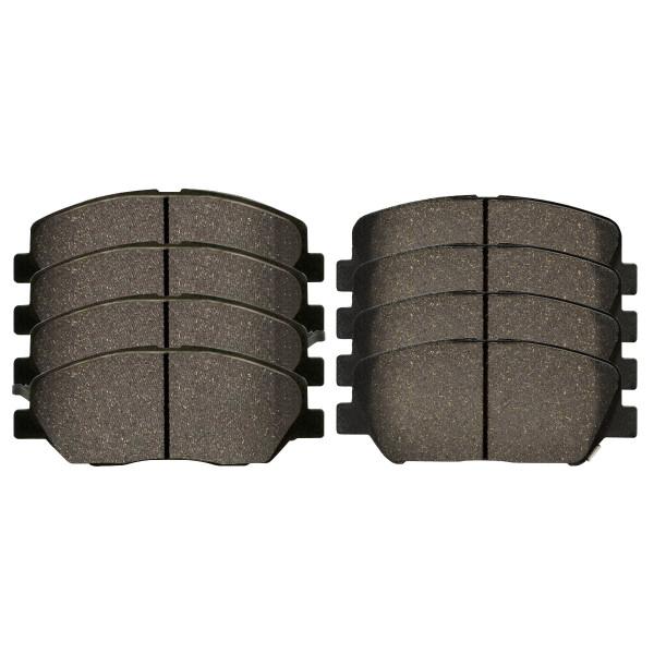 Front and Rear Ceramic Brake Pad Bundle - Part # SCD1202-1284