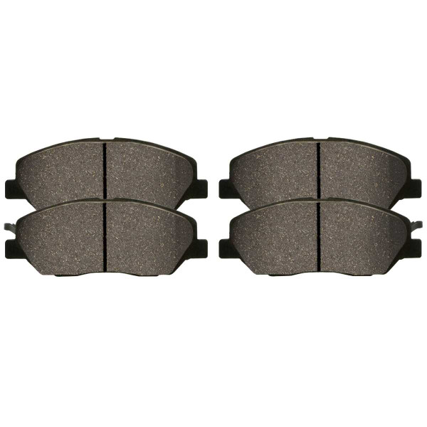 Front and Rear Ceramic Brake Pad Bundle - Part # SCD1202-1297