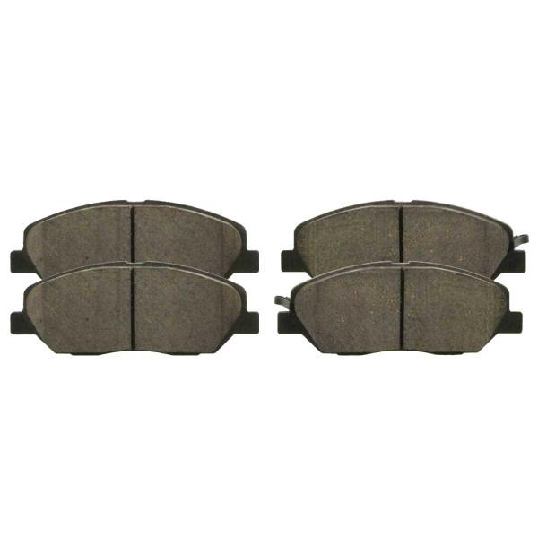 Front Ceramic Brake Pad Set - Part # SCD1202