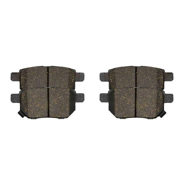 Front and Rear Ceramic Brake Pad Bundle - Part # SCD1211-1354