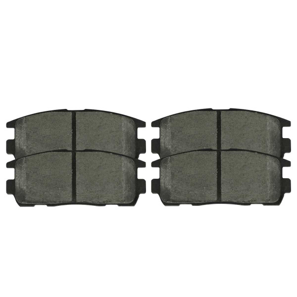 Front Ceramic Brake Pad Set - Part # SCD1264
