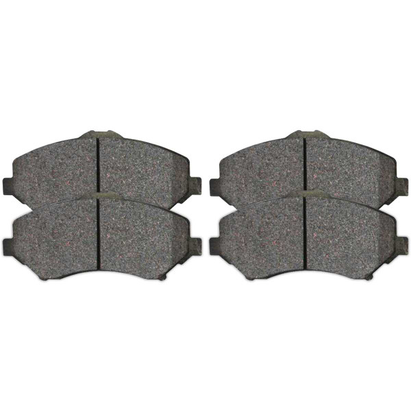 Front Ceramic Brake Pad Set - Part # SCD1273