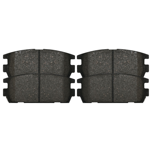 Rear Ceramic Brake Pad Set - Part # SCD1275