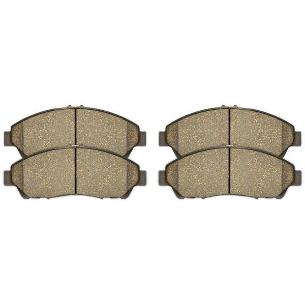 Front and Rear Ceramic Brake Pad Bundle - Part # SCD1280-1281