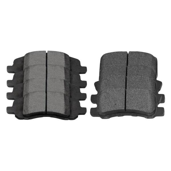 Front and Rear Ceramic Brake Pad Bundle 4 Wheel Disc - Part # SCD1285-868
