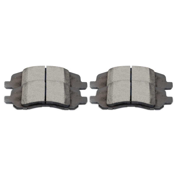 Front Ceramic Brake Pad Set - Part # SCD1285