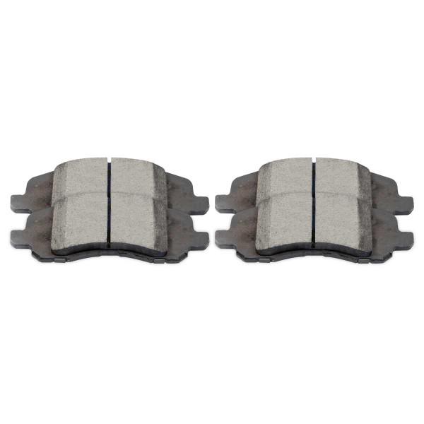 Front Ceramic Brake Pad Set - Part # SCD1285