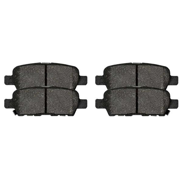 Front and Rear Ceramic Brake Pad Bundle - Part # SCD1287-1288