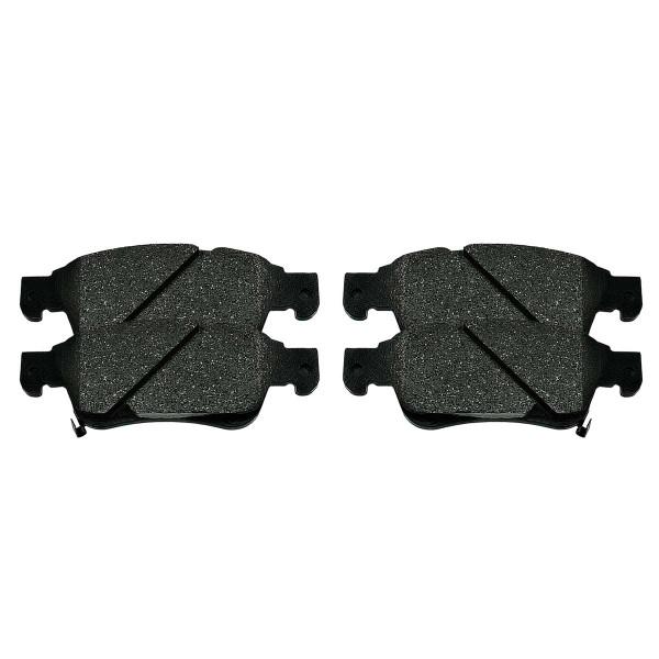 Front Ceramic Brake Pad Set - Part # SCD1287