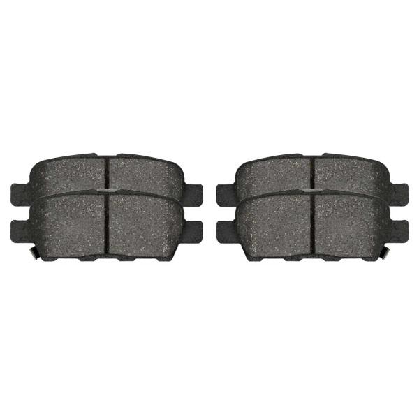 Rear Ceramic Brake Pad Set 4 Wheel Disc - Part # SCD1288