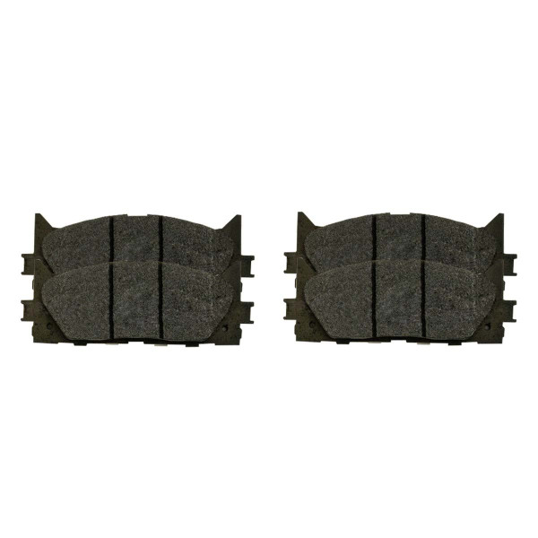 Front Ceramic Brake Pad Set - Part # SCD1293
