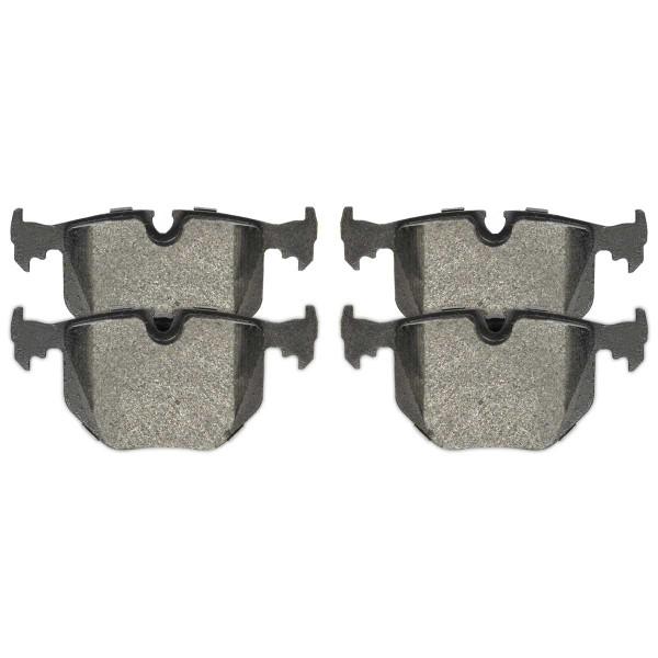 Front and Rear Ceramic Brake Pad Bundle - Part # SCD1294-683