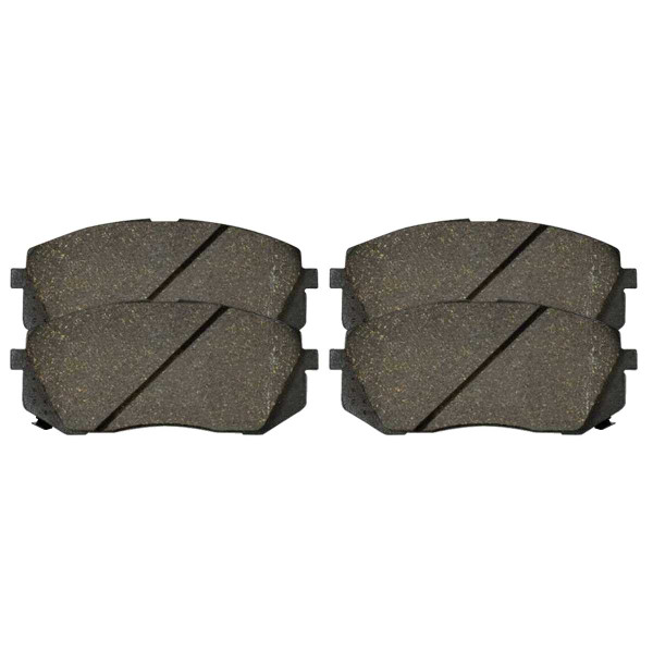 Front Ceramic Brake Pad Set - Part # SCD1295