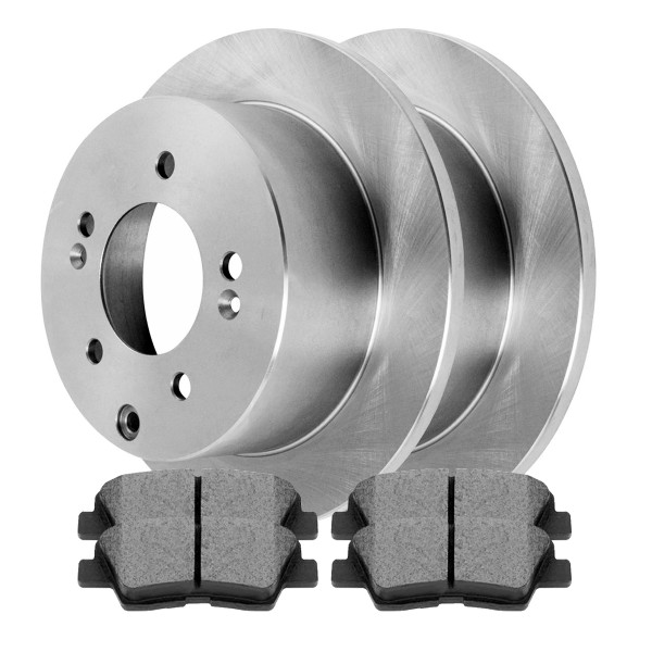 [Rear Set] 2 Rotors & 4 Ceramic Pads - Part # SCD1313-R41544