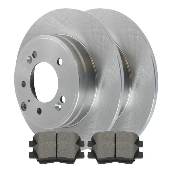 Rear Set of Rotors & Ceramic Pads - Part # SCD1313-R41588