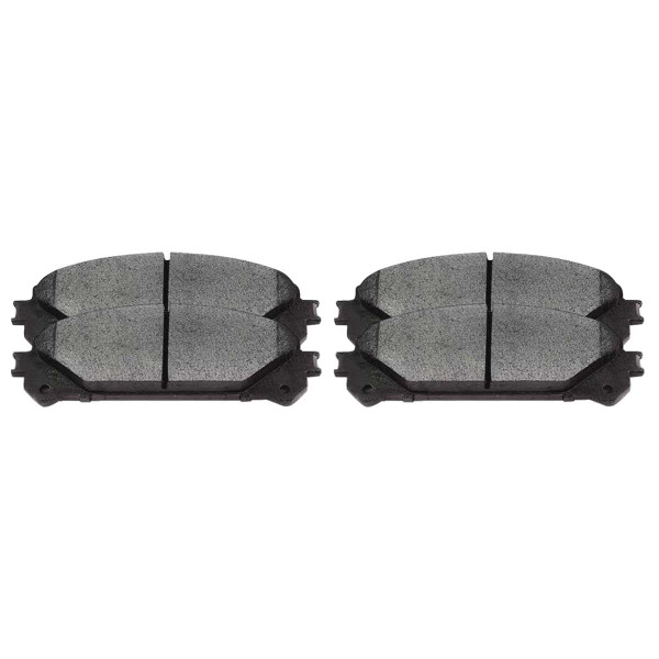 Front Ceramic Brake Pad Set - Part # SCD1324