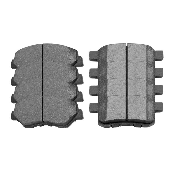 Front and Rear Ceramic Brake Pad Bundle - Part # SCD1336-914