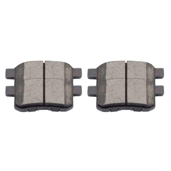 Rear Ceramic Brake Pad Set - Part # SCD1336