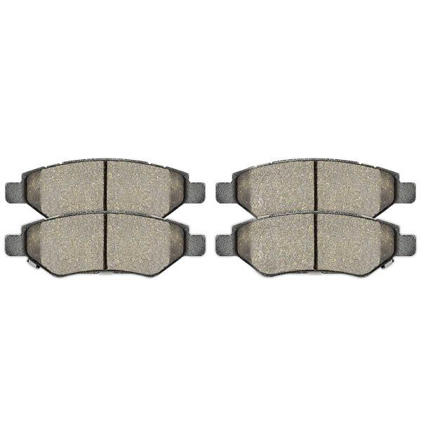 Rear Ceramic Brake Pad Set - Part # SCD1337