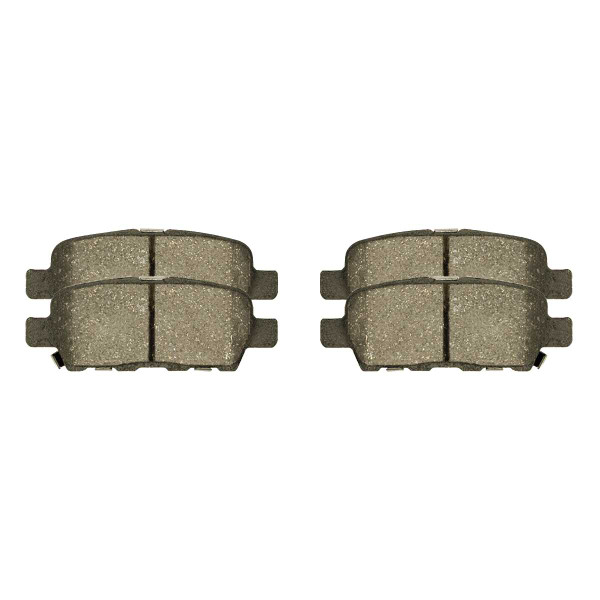 Front and Rear Ceramic Brake Pad Bundle - Part # SCD1338-1288