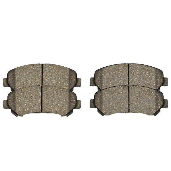 Front Ceramic Brake Pad Set - Part # SCD1338