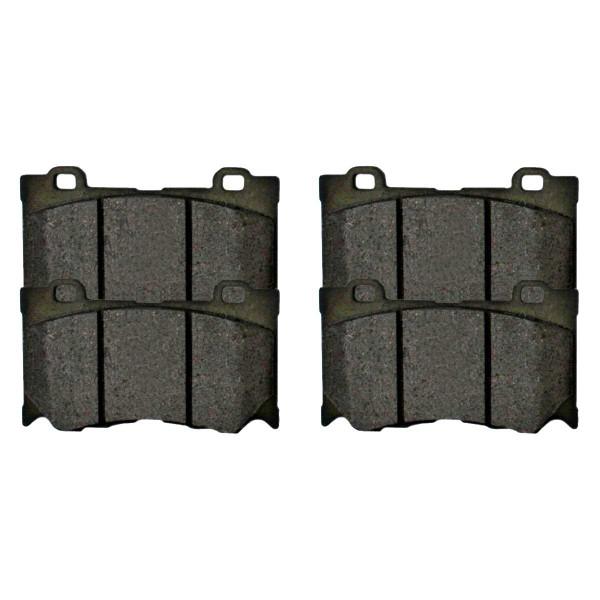 Front Ceramic Brake Pad Set - Part # SCD1346