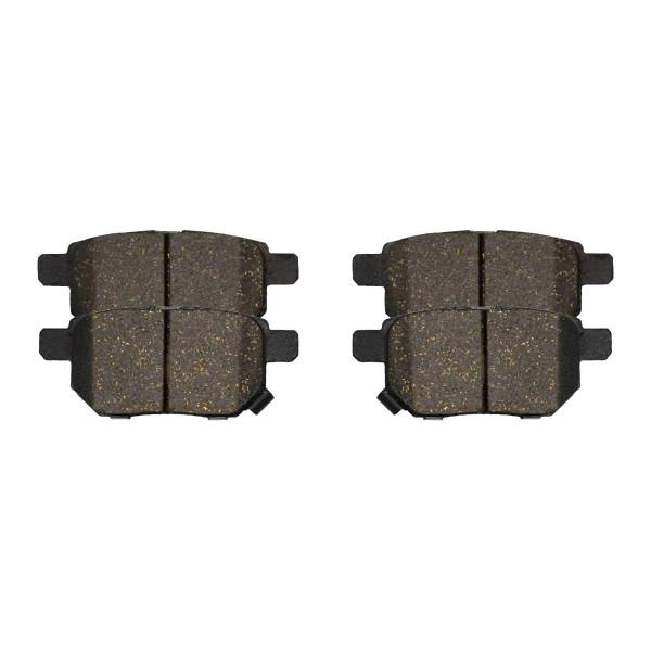 Rear Ceramic Brake Pad Set 4 Wheel Disc - Part # SCD1354