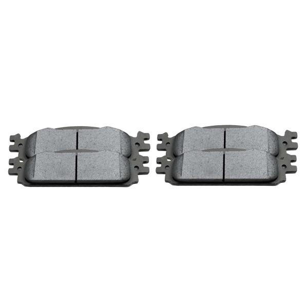 Front Ceramic Brake Pad Set - Part # SCD1376