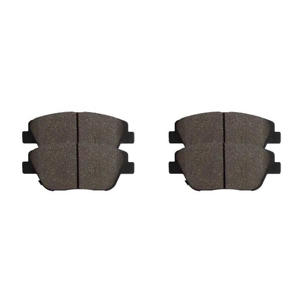 Front Ceramic Brake Pad Set - Part # SCD1379