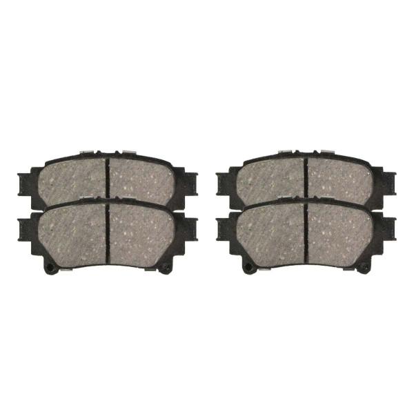 Rear Ceramic Brake Pad Set - Part # SCD1391