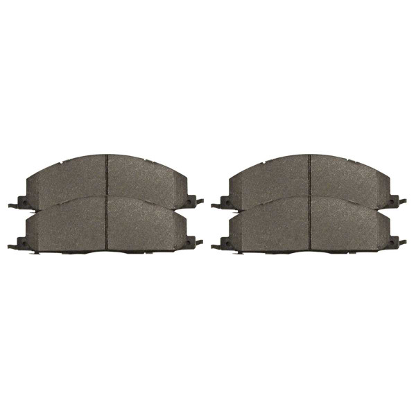Rear Ceramic Brake Pad Set - Part # SCD1400