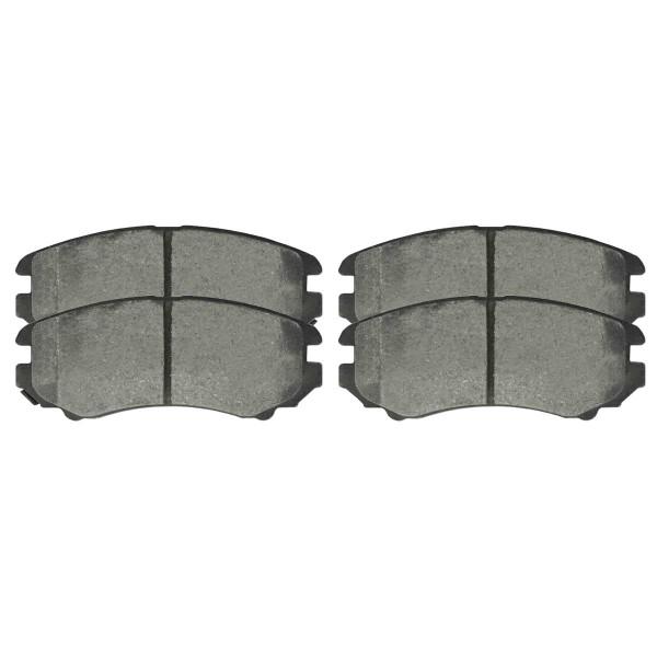 Front Ceramic Brake Pad Set - Part # SCD1408