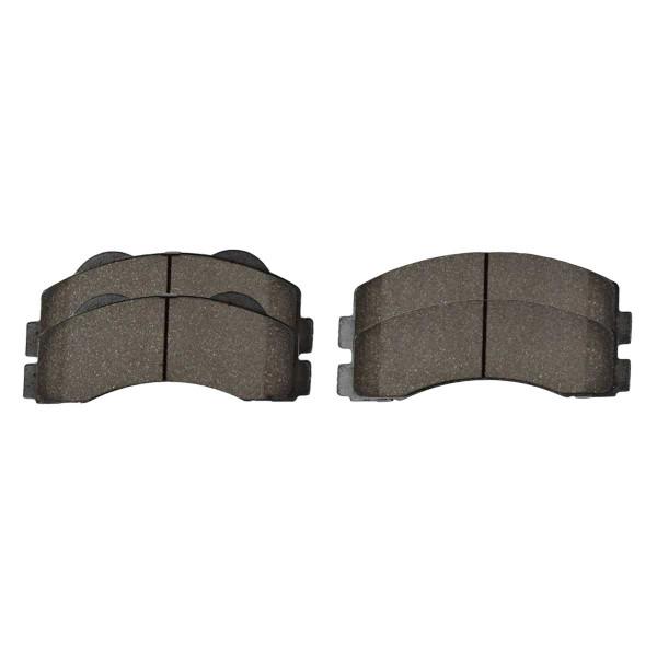 Front Ceramic Brake Pad Set - Part # SCD1414