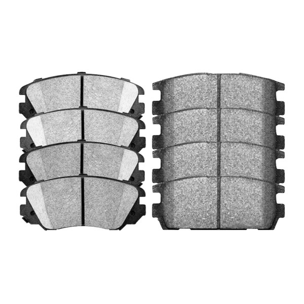 Front and Rear Ceramic Brake Pad Bundle - Part # SCD1421-1275