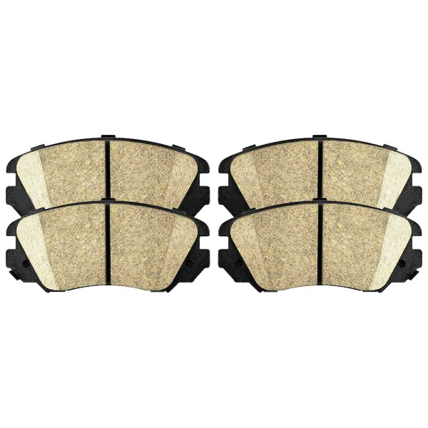 Front Ceramic Brake Pad Set - Part # SCD1421