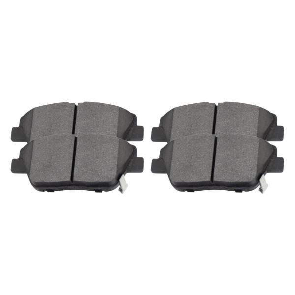 Front Ceramic Brake Pad Set - Part # SCD1444