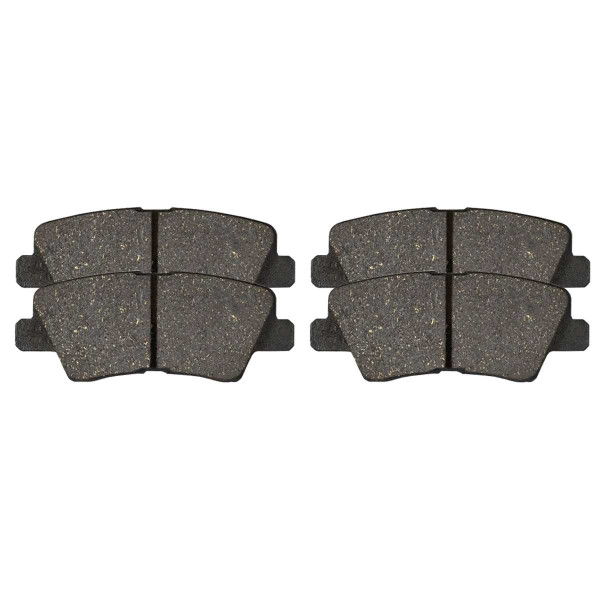 Rear Ceramic Brake Pad Set - Part # SCD1445