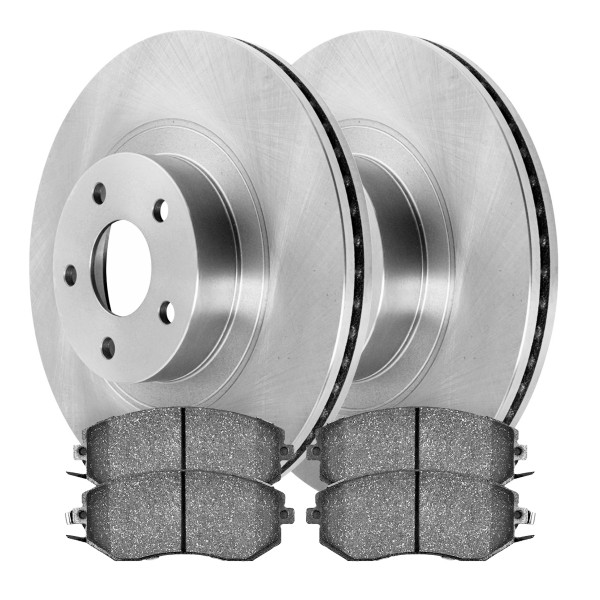 [Front Set] 2 Rotors & 4 Ceramic Pads - Part # SCD1539-R41061
