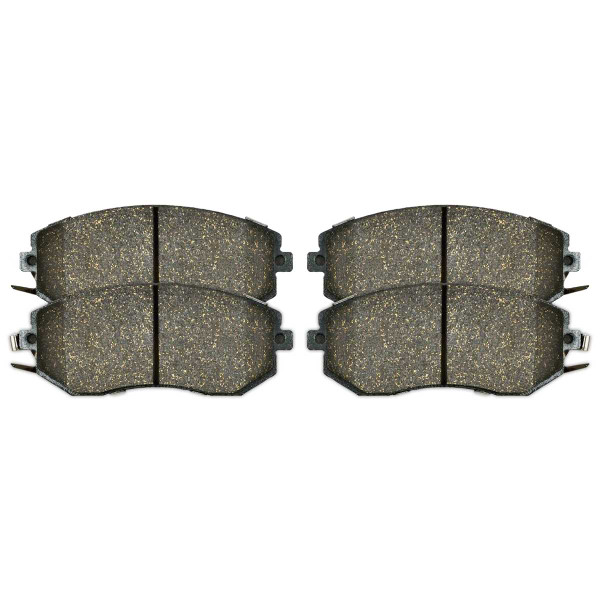 Front Ceramic Brake Pad Set - Part # SCD1539