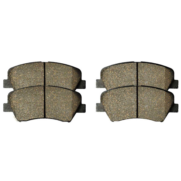 Front Ceramic Brake Pad Set - Part # SCD1543