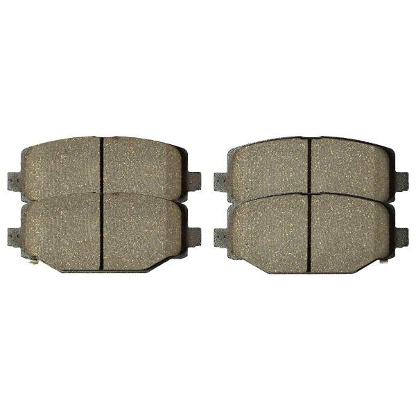 Rear Ceramic Brake Pad Set - Part # SCD1596