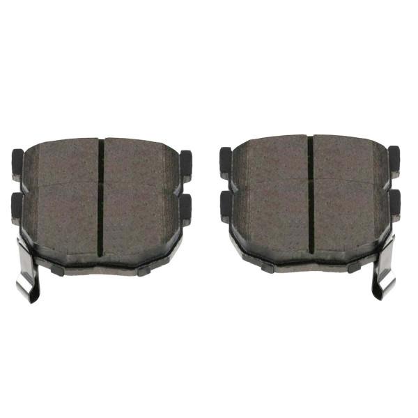 Rear Ceramic Brake Pad Set 4 Wheel Disc - Part # SCD323A
