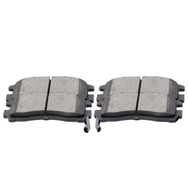 Rear Ceramic Brake Pad Set 4 Wheel Disc - Part # SCD383