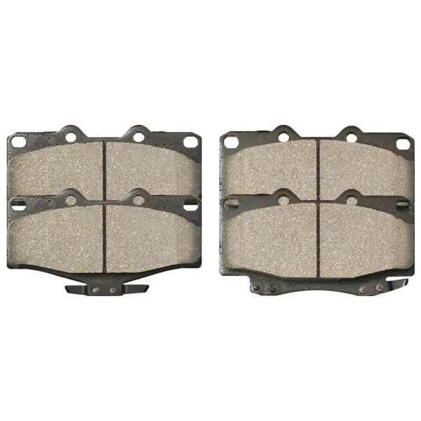 Front Ceramic Brake Pad Set - Part # SCD436A